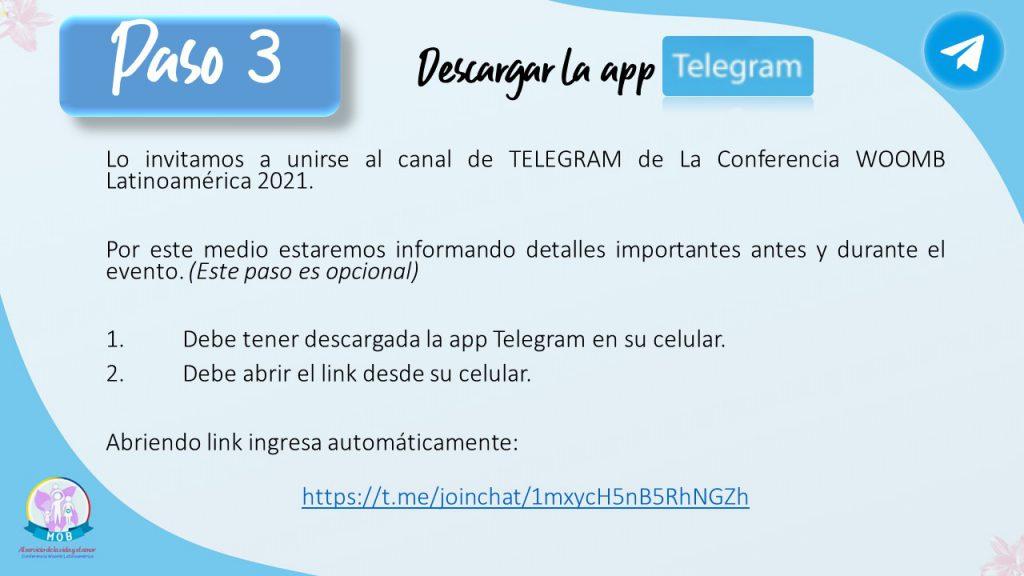 Descarga telegram