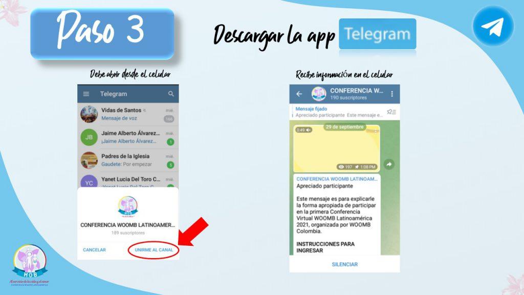 uneté a telegram